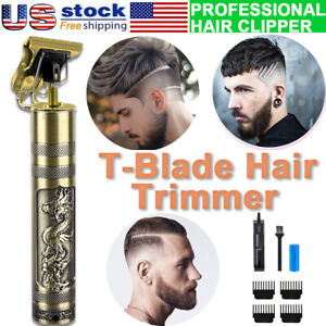 Professional Hair Clippers Cordless Trimmer Shaving Machine Cutting Barber Beard