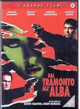 Dal tramonto all'alba (1995) DVD  Versione Costa Rossa e Nera