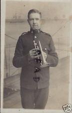 Soldier Marine Royal Marines Royal Marine Band Bandsman Cornet ? Player