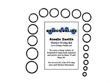 Azodin Zenith Paintball Marker O-ring Oring Kit x 4 rebuilds / kits
