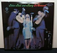 PETER PAUL & MARY IN CONCERT (NM) 2WS-1555 LP VINYL RECORD