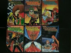 * Leiji Matsumoto's Space Pirate Captain Harlock  #1  - 6  1989 Eternity Comics