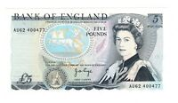 Vintage Banknote UNC Great Britain 1973 - 1980 5 Pounds Pick 378b US Seller