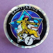 Sagittarius Pog Slammer Plastic horoscope foil reflective pogs astrology 90s vin