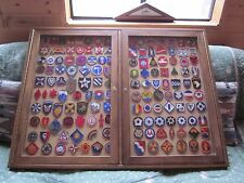 """142 WW2 U.S. ARMY PATCHES ARMIES,CORPS,INF/DIV,GROUND UNITS """"LOOK"""""""