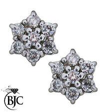Butterfly Cluster Very Good Fine Diamond Earrings