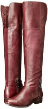 Chinese Laundry Fawn Bordeaux Red Riding Over the Knee Boots 5M 5 NEW $129.95