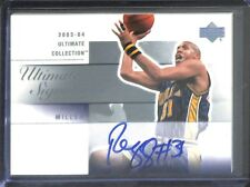 2003-04 Upper Deck Ultimate Collection Ultimate Signatures #RM-A Reggie Miller