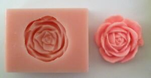 ROSE 001 SILICONE MOULD FOR CAKE TOPPERS CHOCOLATE CLAY ETC