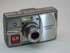 Konica Minolta DiMAGE G600 6.0MP Digital Camera - Silver
