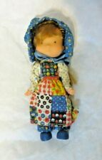 Vintage Knickerbocker An Original Holly Hobbie Doll Vinyl NOS Unplayed with
