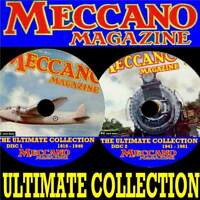 BIGGEST MECCANO MAGAZINE COLLECTION EVERY PUBLICATION 1916-81 2 PC-DVD SET NEW
