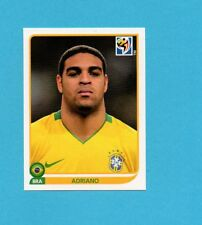 SOUTH/SUD AFRICA 2010-PANINI-Figurina n.504-ADRIANO-BRASILE-NEW BLUE BACK