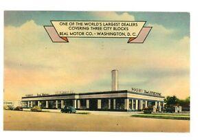 Beal Motor Co Chrysler Plymouth Car Dealership RI Ave. NE Washington, DC pm 1949