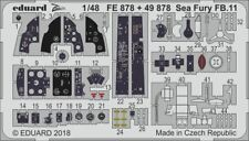 Eduard PE 49878 1/48 Hawker Sea Fury FB.11 interior details Airfix