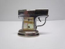 Vintage Continental 1940s Pistol Gun Table / Desk Lighter Occupied Japan