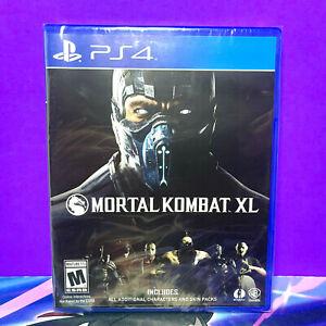 SONY PLAYSTATION PS4 MORTAL KOMBAT XL BY WB GAMES 2016 (SEALED)