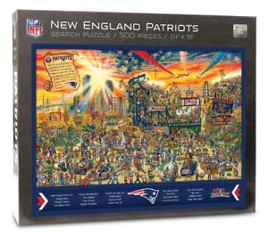 New England Patriots Find Joe 500 Piece Jigsaw Puzzle 460mm x 610mm   (wmp)