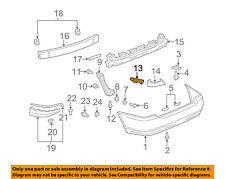 TOYOTA OEM 03-08 Corolla Rear Bumper-Side Support Left 5215602070