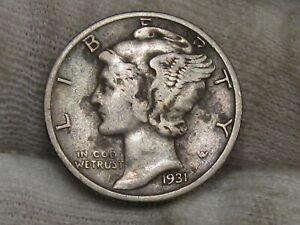 1931-s Mercury Dime. #60