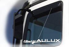 Climair LKW Windabweiser Renault Trafic ab Bj.2001-2014 Rauchgrau 1 Paar 1A