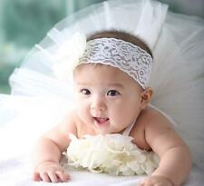 Newborn Cute Baby Clothes Girls Dress Flower Headwear Photo Prop Outfits