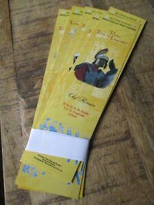 Marques pages collectors -Lot-Thème Belleme-Spectacle nocturne(Orne)