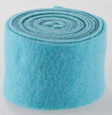 Topfband*Filzband*b=15cm*h-blau*SchafWolle-Filz*Band*Bastel-Dekoband*Deko*TU11