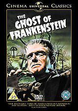 THE GHOST OF FRANKENSTEIN - DVD - REGION 2 UK