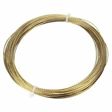 5 Pcs 20m Gold Car Auto Windscreen Window Glass Cutting Out Braided Removal Wire
