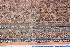 Antique Mahal Sultanabad Rug Rare Design 8x10 #279