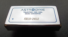 Astrodyne Fdc10-24S12 Isolated and Regulated 10W Dc/Dc Converter: 24Vin 12Vout
