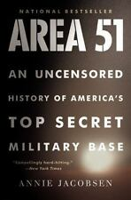 NEW: Area 51 : An Uncensored History of America's Top Secret Military Base