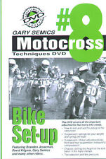 Motocross MX How To Bike Set-Up DVD #8 from Volume 1 by Gary Semics