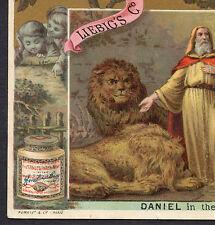 c 1884 Daniel Lions Den LIEBIG S  0160 English American  Bible Histoire biblique