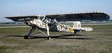 Fieseler Fi 156 Liaison Aircraft Wood Model Replica Small Free Shipping