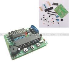 AT89C2051 DS18B20 Microcontroller Temperature Controller LED Alarm 5V DC DIY Kit