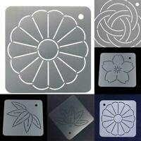 DIY Embroidery Quilt Matte Template Stencils Drawing Tool Craft Sewing K2Z5