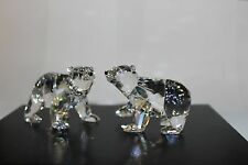 Swarovski Crystal Polar Bear Cubs 1079156
