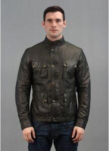 Belstaff kerala jacket Lightweight Waxed cotton black prince label Size Large