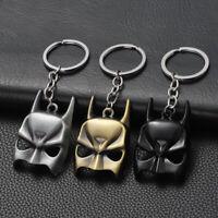 DC Comics Superhero Batman Mask Alloy Key Chains Keychain Keyfob Keyring New
