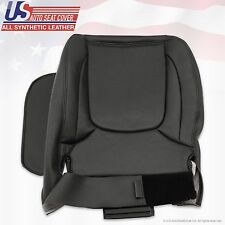 2004 2005 Dodge Ram 3500 Laramie DRIVER Side Bottom Leather Seat Cover Dark Gray