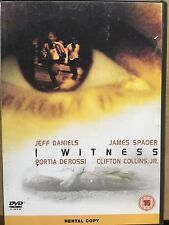 Jeff Daniels James Spader I WITNESS ~ 2002 Crime Thriller UK Rental DVD
