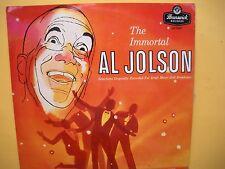 Al Jolson - The Immortal - Rare 50s release / excellent condition