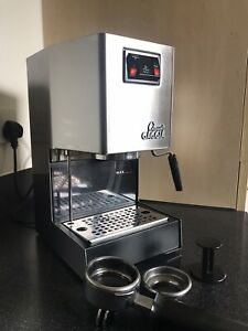 Gaggia Classic 2 Coffee Cups (2013 Model) MODDED to 9bar