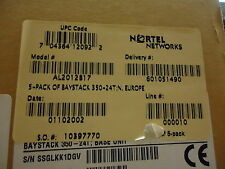 AL2012B17 NORTEL NETWORKS BS 350-24T BRAND NEW!