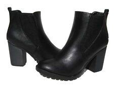New Women's Fashion Boots Black Lug Soles Shoes Winter Snow Ladies size 9