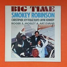 SMOKEY ROBINSON Big Time 1977 Tamla T6 355S1 LP Vinyl VG++ Cover VG++