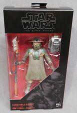 "Star Wars The Force Awakens 6"" Black Series Constable Zuvio #09 - Wave 2"