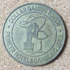 Vtg Pioneer Hotel & Gambling Hall $1 Dollar Gaming Token Coin Nevada (Pg1737)